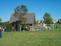 Pioneer Park Shelter & Playground Area
