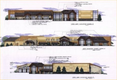 Recreation Center Elevations