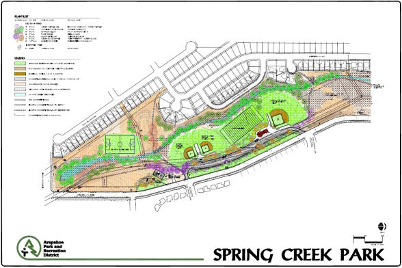 Spring Creek Park Construction Project